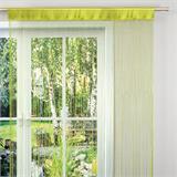 Gräfenstayn Fadenvorhang 90 x 240 cm mit Stangendurchzug in Ihrer Wunschfarbe