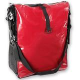 Fahrrad Tasche aus Trapaulin LKW Plane  Rot Weiß Schwarz Blau