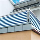 Optima Balkonsichtschutz Windschutz 5 m lang