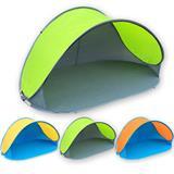 POP UP Strandmuschel Strandzelt Sonnenschutz  100x220x120 cm UV-Schutz 40