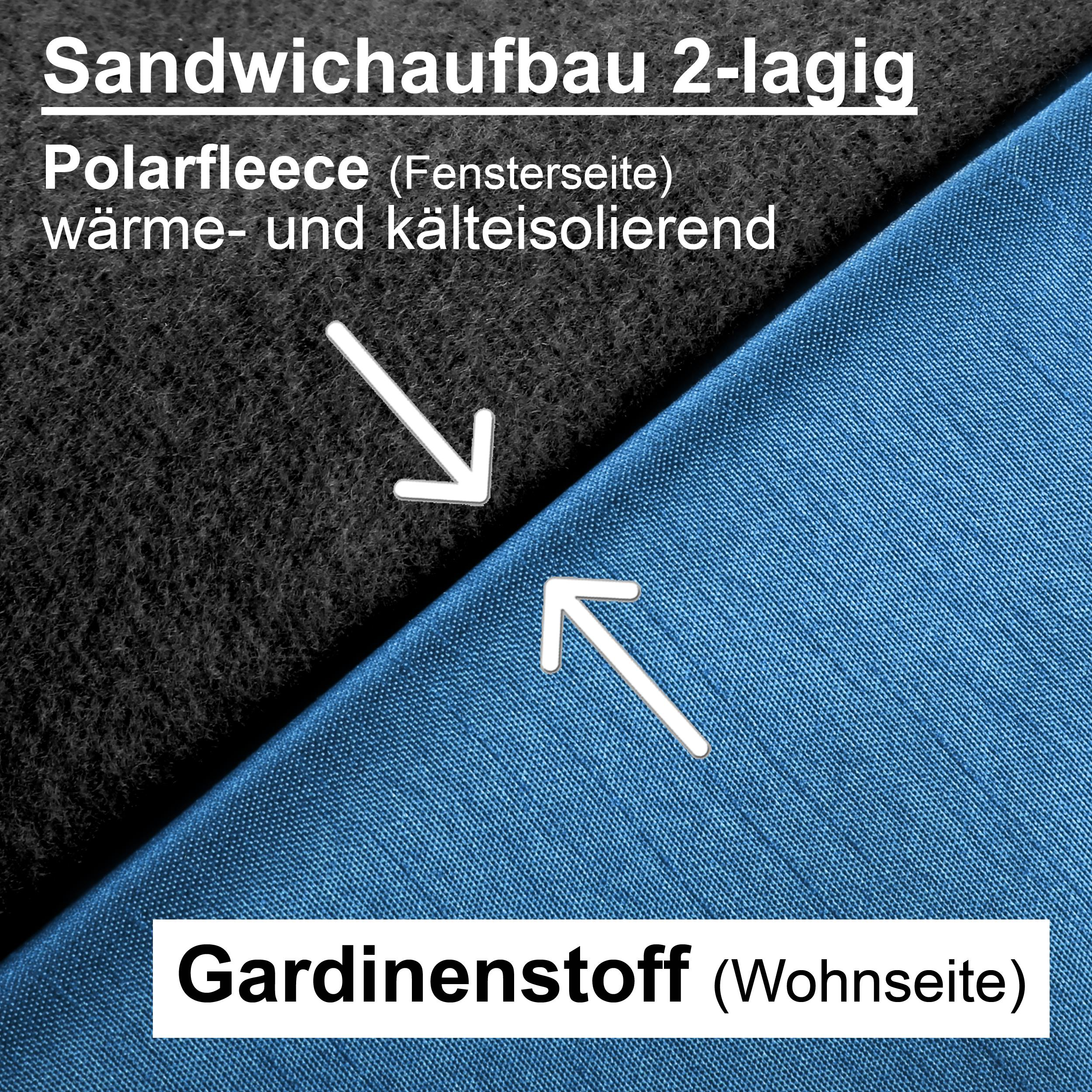 Thermogardine-Verdunklungsgardine-Blickdicht-Gardine-Vorhang-Schal-mit-Osen