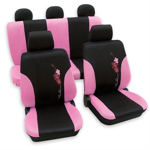 ford fiesta ka fusion escort sitzbez ge flower pink ebay. Black Bedroom Furniture Sets. Home Design Ideas