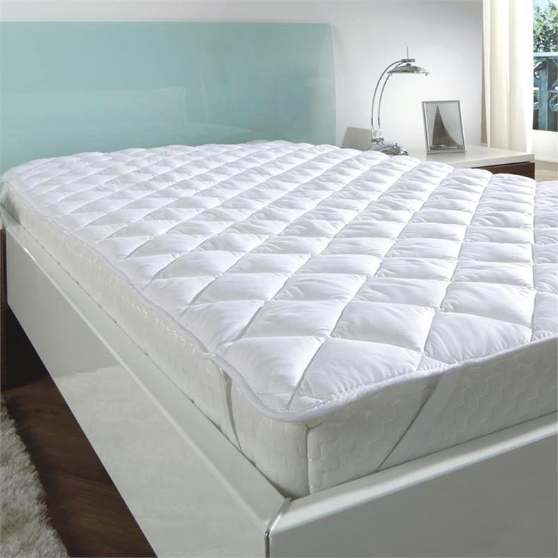matratzenauflage microfaser matratzenschoner matratzenbezug matratzenschonbezug ebay. Black Bedroom Furniture Sets. Home Design Ideas