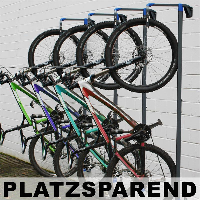 fahrradaufh ngung fahrradhalterung fahrrad wandhalter abschlie bar 90 grad ebay. Black Bedroom Furniture Sets. Home Design Ideas
