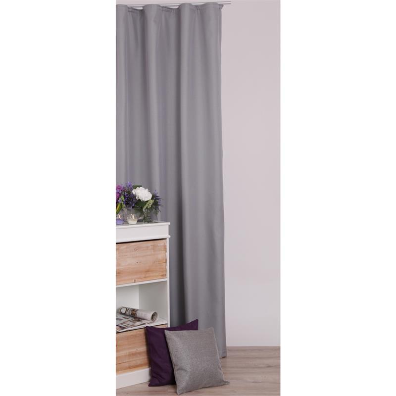 thermogardine verdunklungsgardine blickdicht gardine vorhang kr uselband vlie ebay. Black Bedroom Furniture Sets. Home Design Ideas