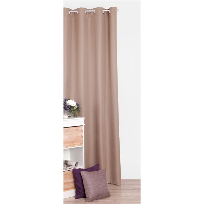 thermogardine verdunklungsgardine blickdicht gardine vorhang schal mit sen ebay. Black Bedroom Furniture Sets. Home Design Ideas