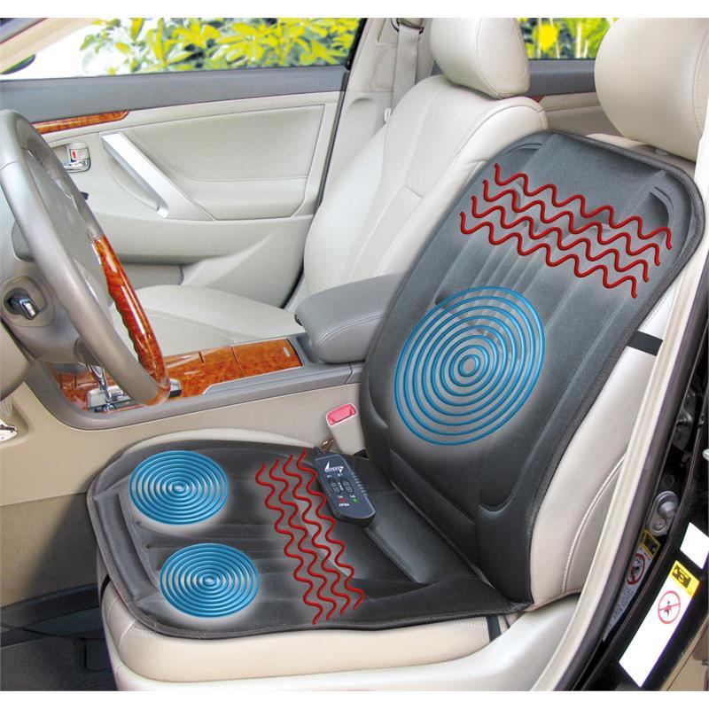 kfz sitzheizung mit massage beheizbare sitzauflage 3 motoren 2 heizstufen ebay. Black Bedroom Furniture Sets. Home Design Ideas