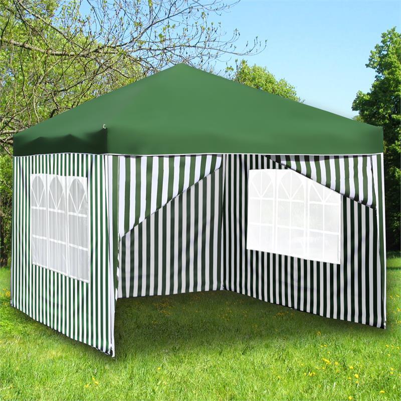 faltpavillon 3x3m pavillon partyzelt garten pavillion. Black Bedroom Furniture Sets. Home Design Ideas