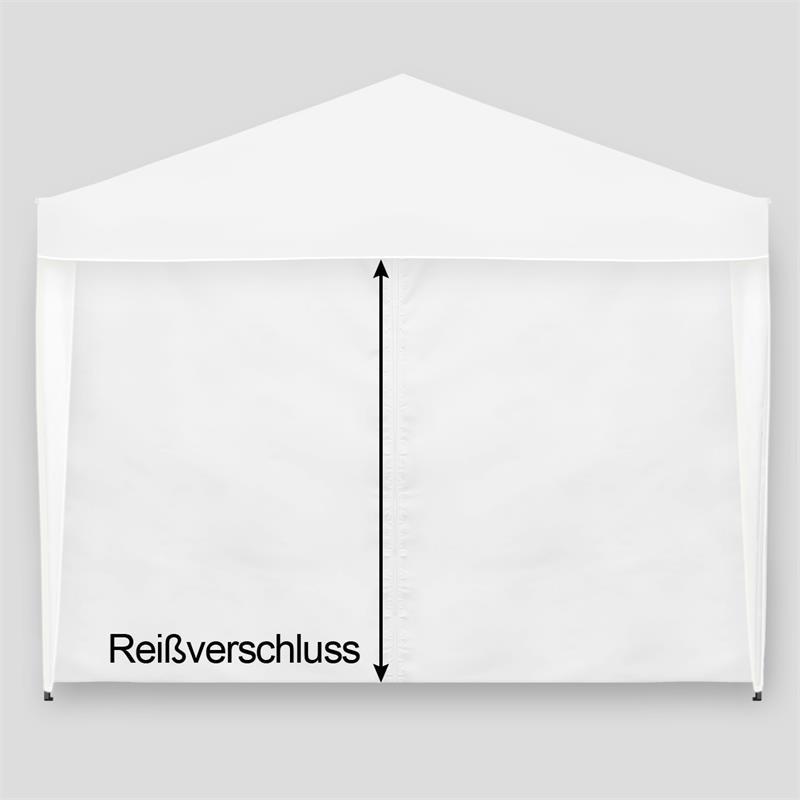 faltpavillon 3x3m wei pavillon partyzelt garten pavillion pavilion fenster ebay. Black Bedroom Furniture Sets. Home Design Ideas