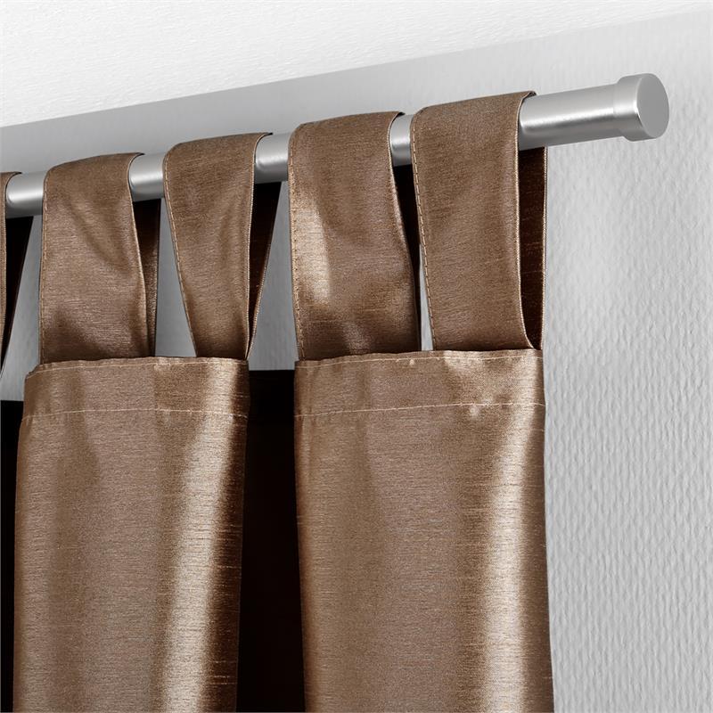 gardinen deko gardinen lila braun gardinen dekoration. Black Bedroom Furniture Sets. Home Design Ideas