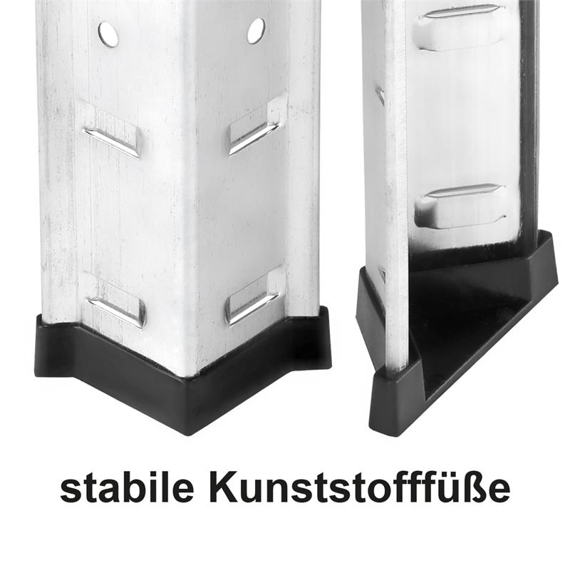 steckregal 5 b den 875kg verzinkt schwerlastregal metall lagerregal kellerregal ebay. Black Bedroom Furniture Sets. Home Design Ideas