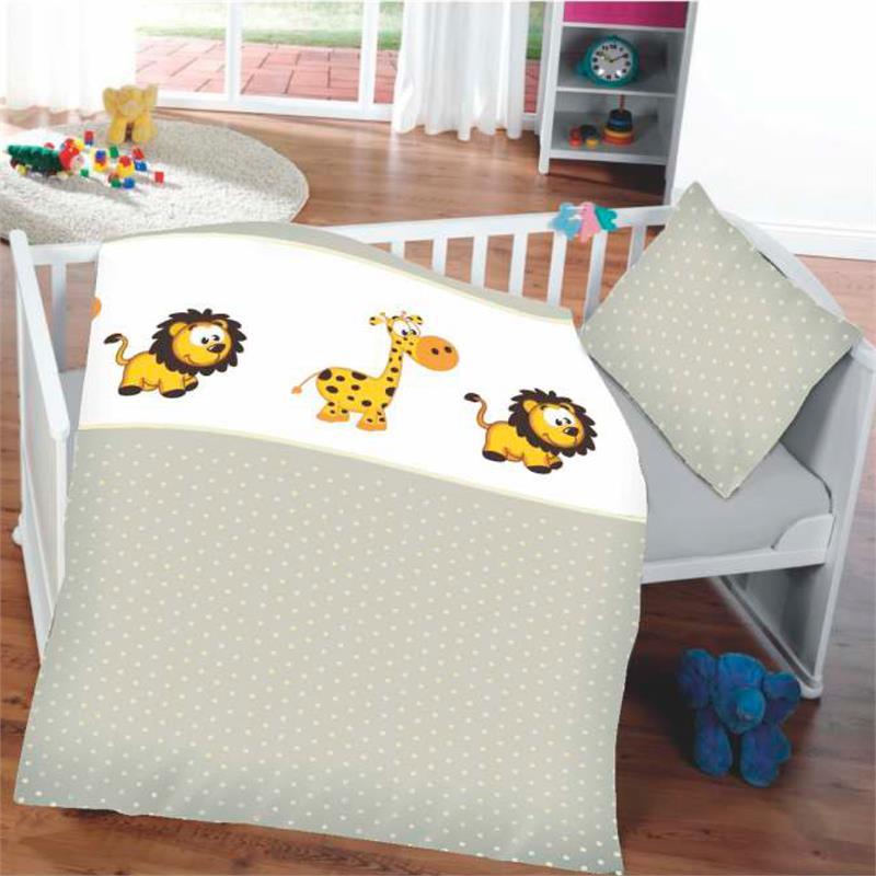 baby bettw sche tiermotiv kinder deckenbezug 135x100cm. Black Bedroom Furniture Sets. Home Design Ideas