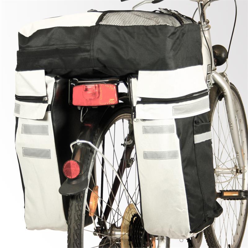 fahrrad gep cktasche satteltasche rucksack regendicht ebay. Black Bedroom Furniture Sets. Home Design Ideas