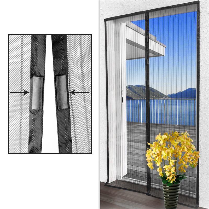 fliegengitter vorhang insektenschutz magnet m ckenschutz. Black Bedroom Furniture Sets. Home Design Ideas