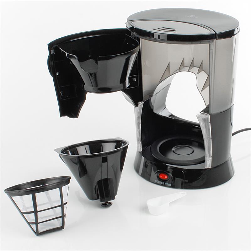 Coffee King Kaffeemaschine mit Milchaufschäumer ~ Entsafter Lentz