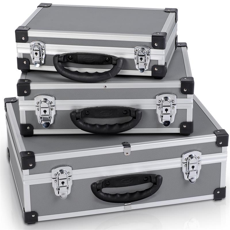 werkzeugkoffer alu koffer 3 in 1 werkzeugkiste aluminium. Black Bedroom Furniture Sets. Home Design Ideas
