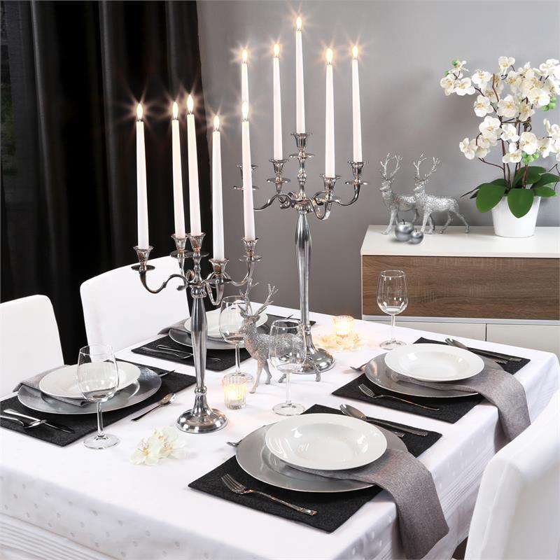 kerzenst nder kerzenleuchter kerzenhalter kandelaber in. Black Bedroom Furniture Sets. Home Design Ideas
