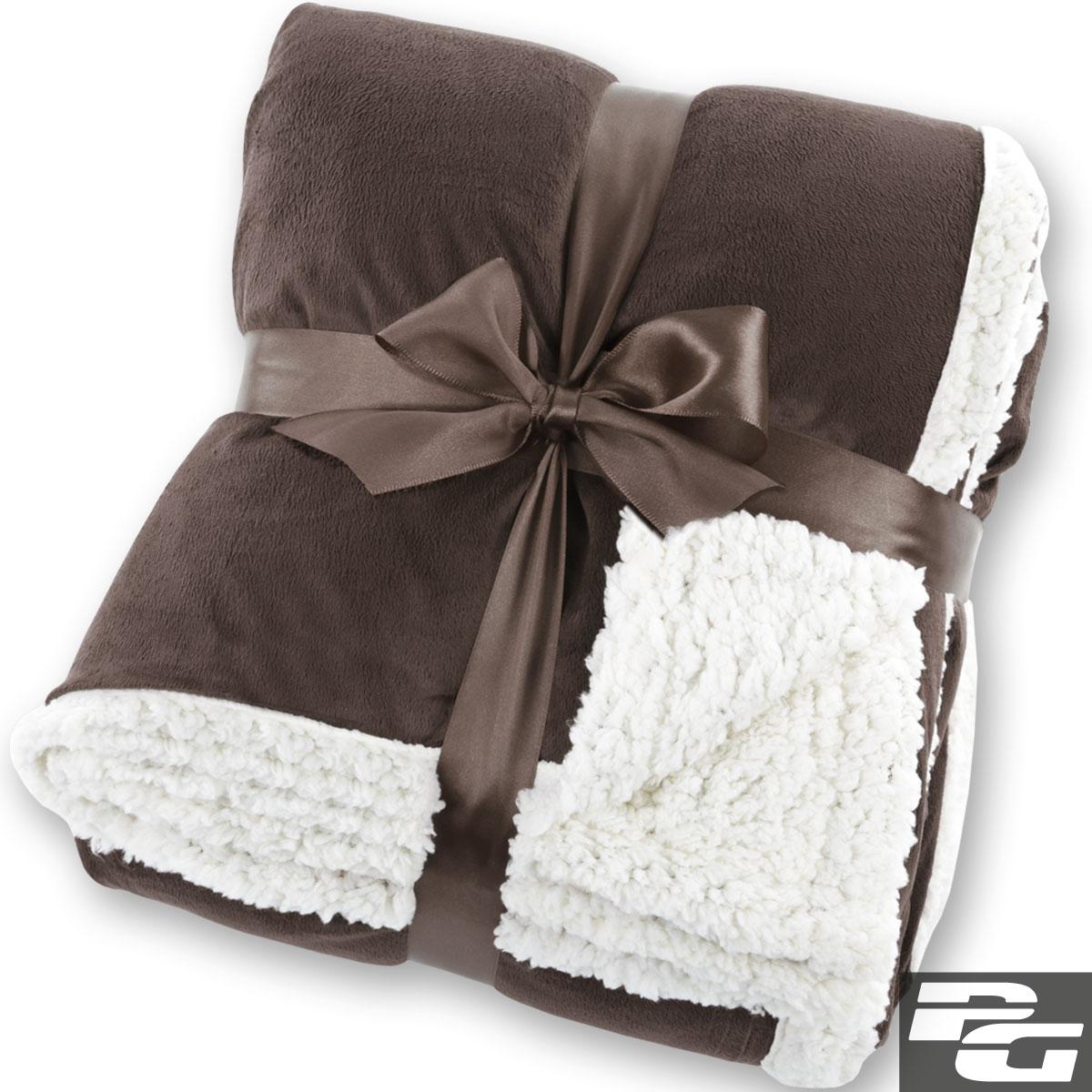 xxl kuscheldecke 220 x 220 cm lammfelloptik tagesdecke wohndecke plaid decke ebay. Black Bedroom Furniture Sets. Home Design Ideas