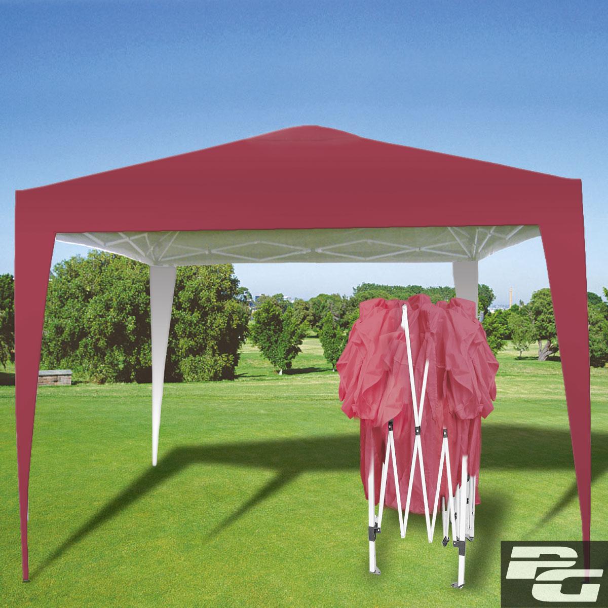 faltpavillon 3 x 3m pavillon partyzelt gartenpavillon. Black Bedroom Furniture Sets. Home Design Ideas