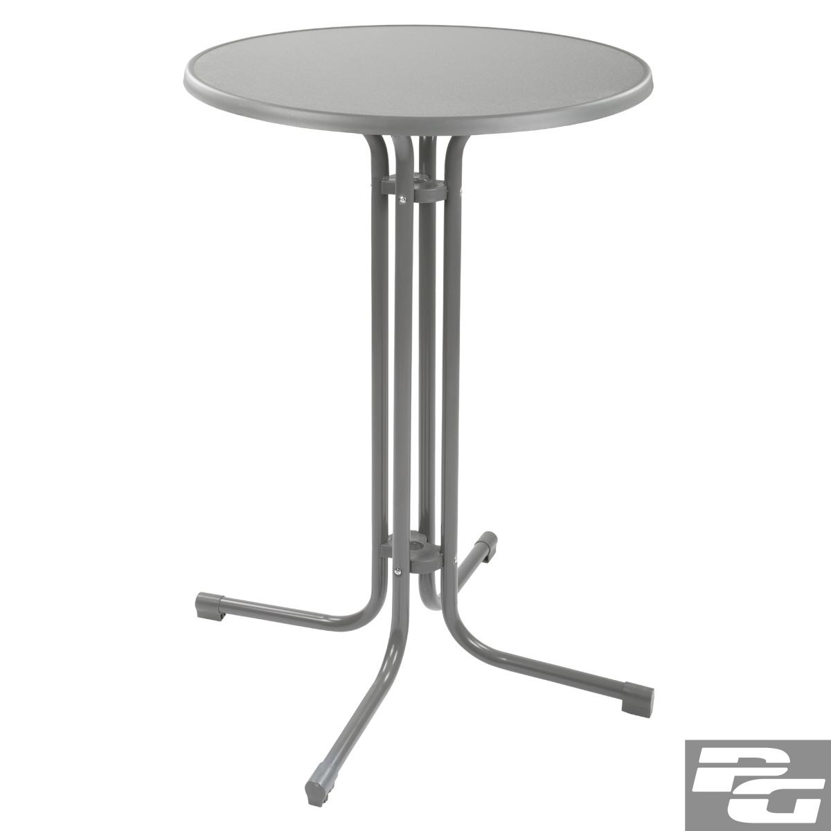 70cm stehtisch klappbar in 3 farben stahl bistrotisch bartisch klapptisch ebay. Black Bedroom Furniture Sets. Home Design Ideas