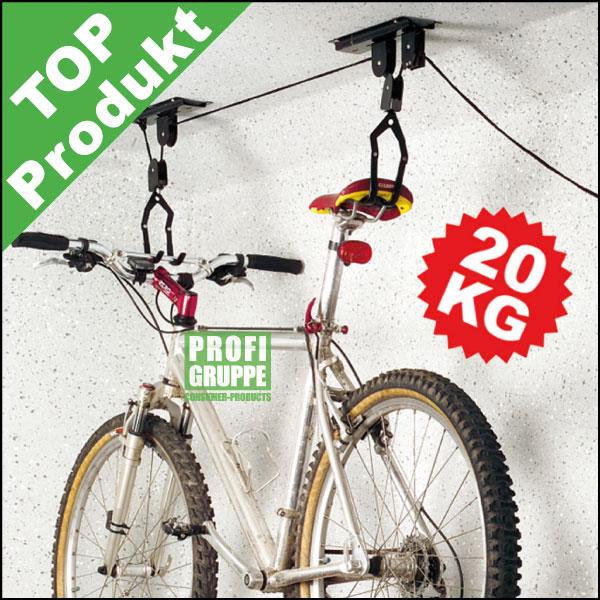 Fahrrad-Lift-Bike-Lift-Fahrradaufhaengung-Fahrradhalter-Halter-TUV-GS
