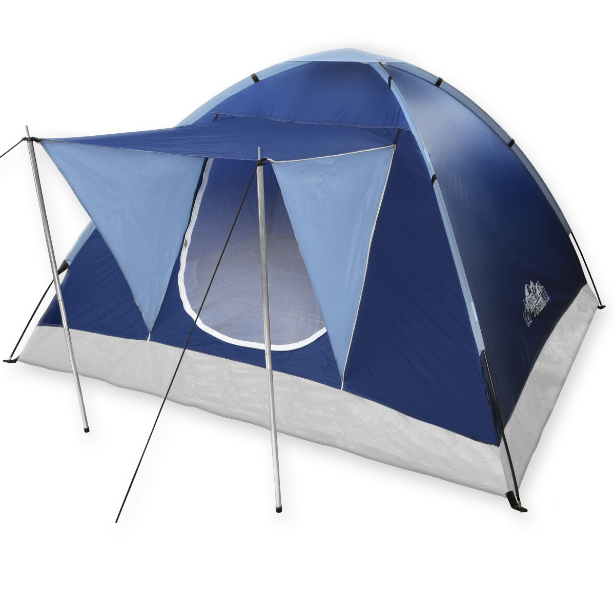 monkey mountain 3 personen igluzelt tent camping zelt familienzelt kuppelzelt ebay. Black Bedroom Furniture Sets. Home Design Ideas