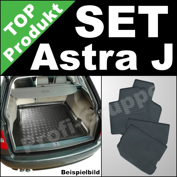 opel astra j sports tourer gummi fu matten. Black Bedroom Furniture Sets. Home Design Ideas