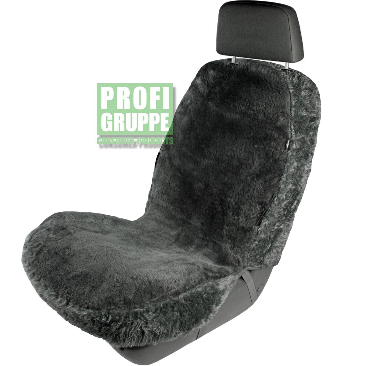 Lammfellbezug-Auto-PKW-Sitzbezug-Lammfell-Autositzbezug-Vollbezug-NEU