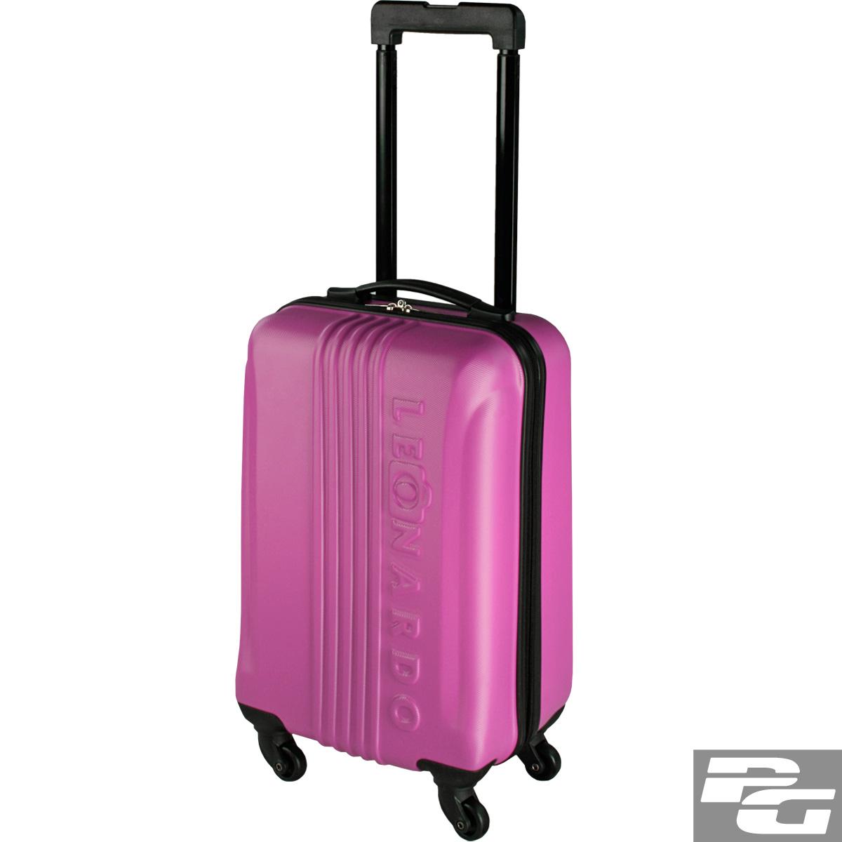 leonardo koffer reisekoffer trolley koffer hartschale handgep ck boardcase ebay. Black Bedroom Furniture Sets. Home Design Ideas