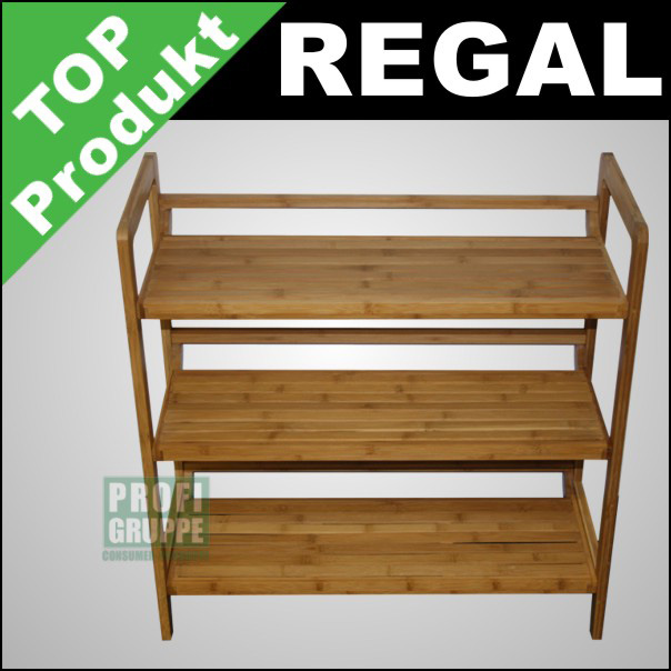 Regal Bambus. Best Bambus Bcherregal Einzigen Regal Bambus Holz ...