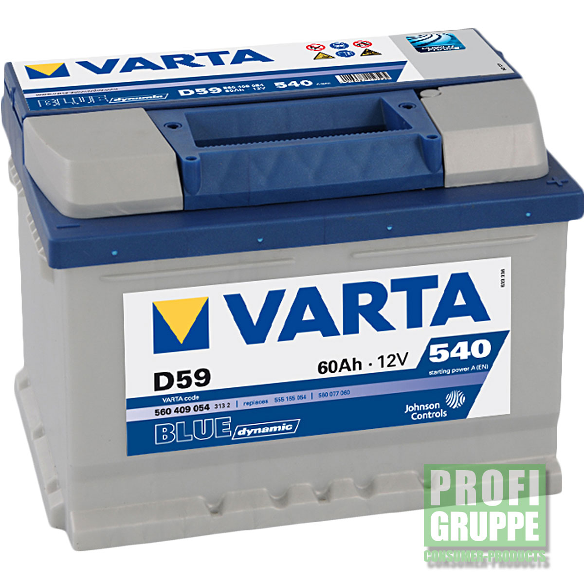 opel astra h varta autobatterie batterie blue dynamic ebay. Black Bedroom Furniture Sets. Home Design Ideas