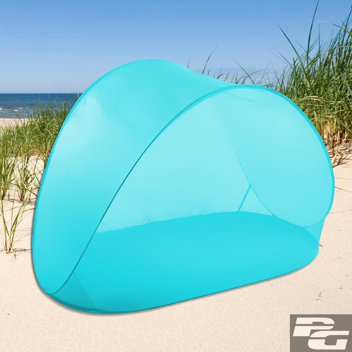 Pop Up Strandmuschel Strandzelt Sonnenschutz Windschutz Strand