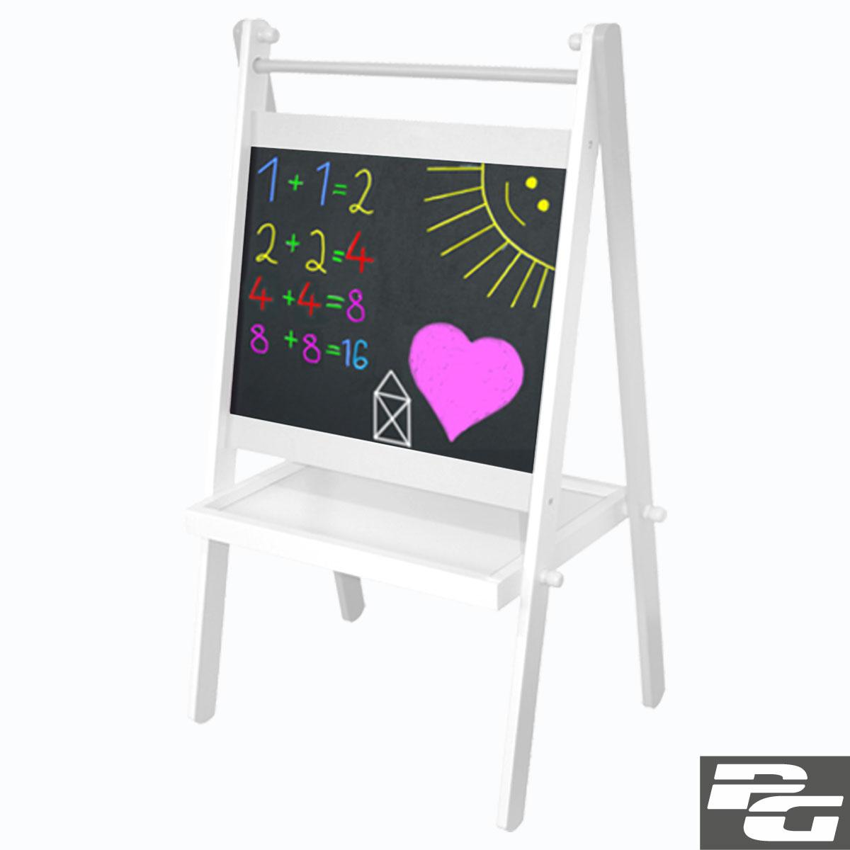 standtafel kindertafel maltafel holz magnet tafel kreide. Black Bedroom Furniture Sets. Home Design Ideas