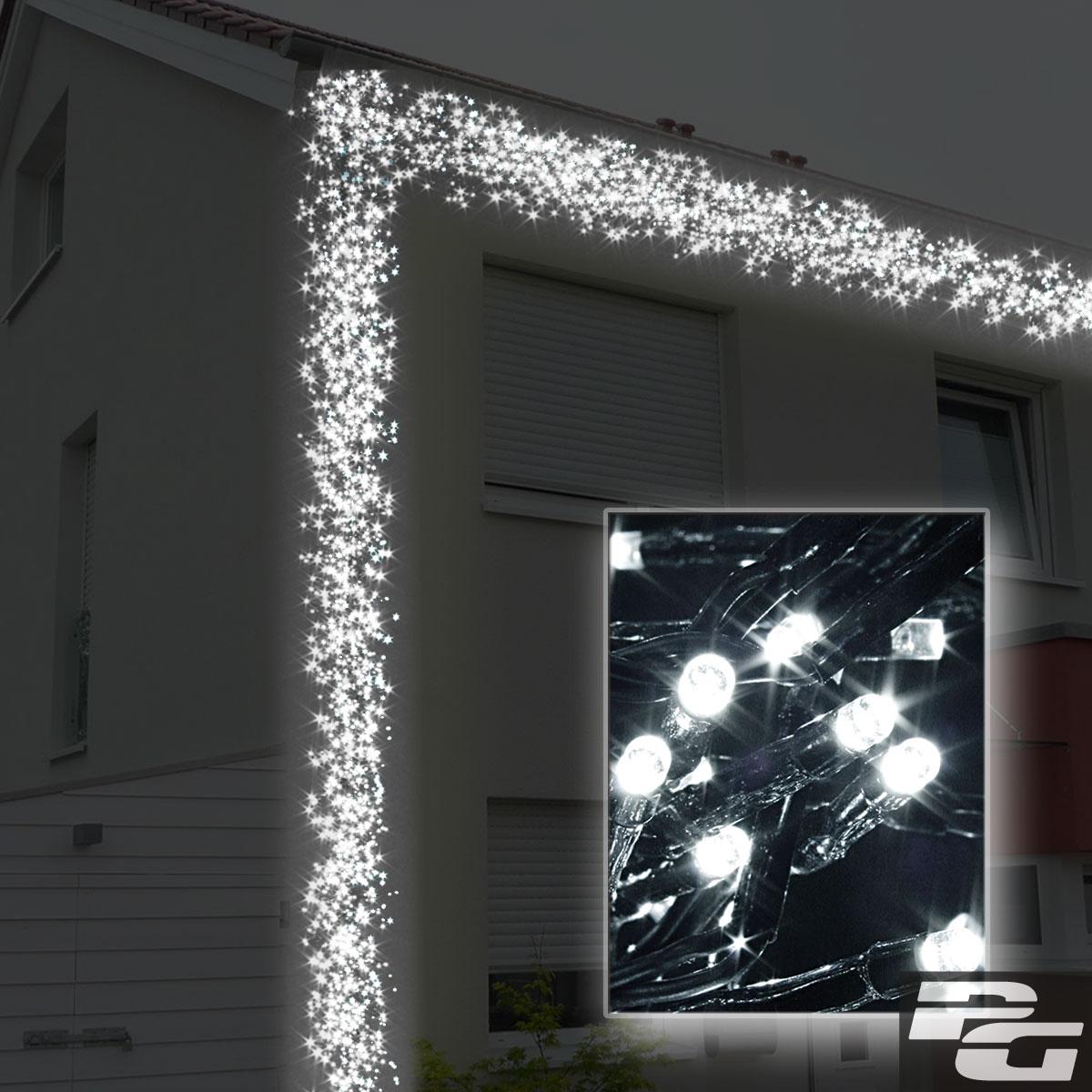 lichterkette led 8 funktionen party cluster au en innen. Black Bedroom Furniture Sets. Home Design Ideas