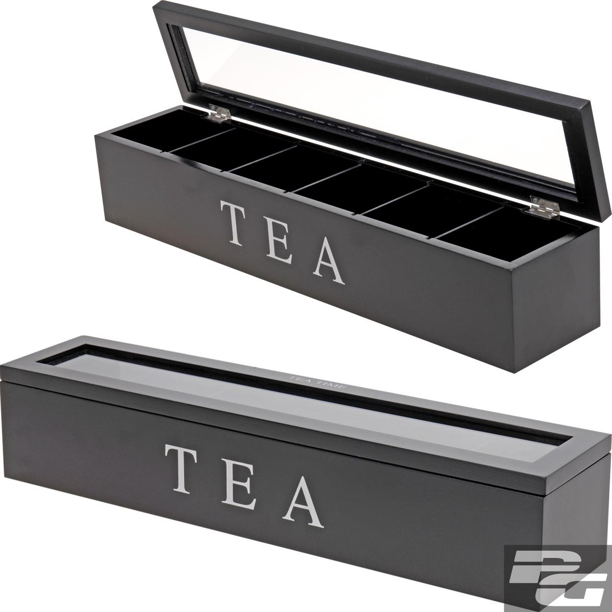 Teekiste-Teebox-Teekasten-Teebeutel-Teebeutelkiste-Teebeutelbox-Teebox-NEU